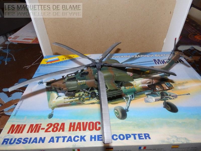 MIL MI-28A HAVOC PROTOTYPE NO32 (ZVEZDA) 1/72 111744063