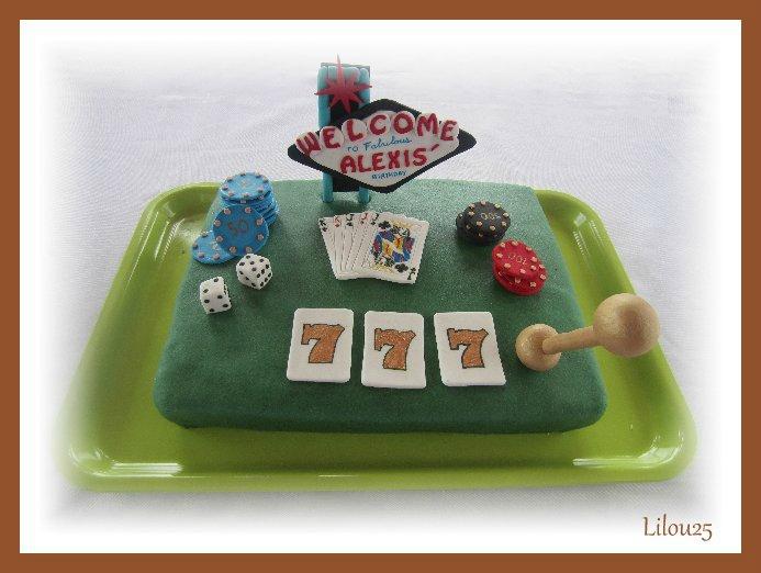 Gâteau LAS VEGAS 110137537
