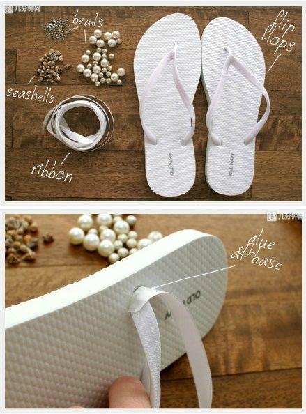 إجعلي حذائك المنزلي البسيط جذابا و أنيقا... 87927526_p