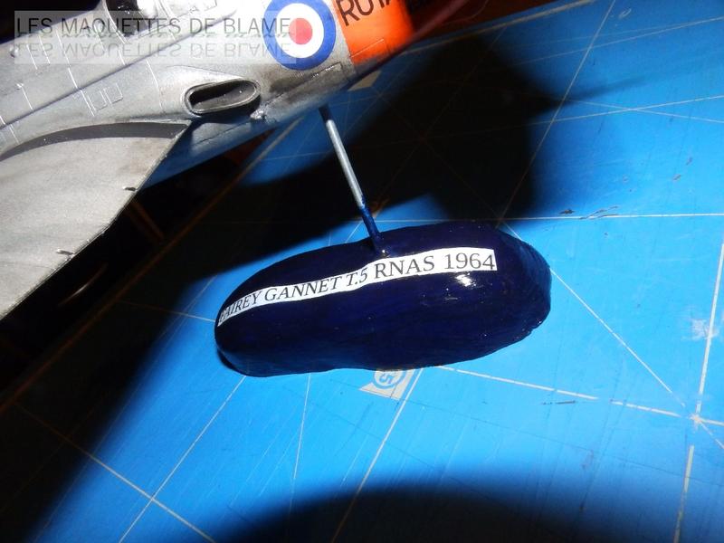 FAIREY GANNET T5 (EN VOL) N°849 UK 1964 Revell 1/72 113459891