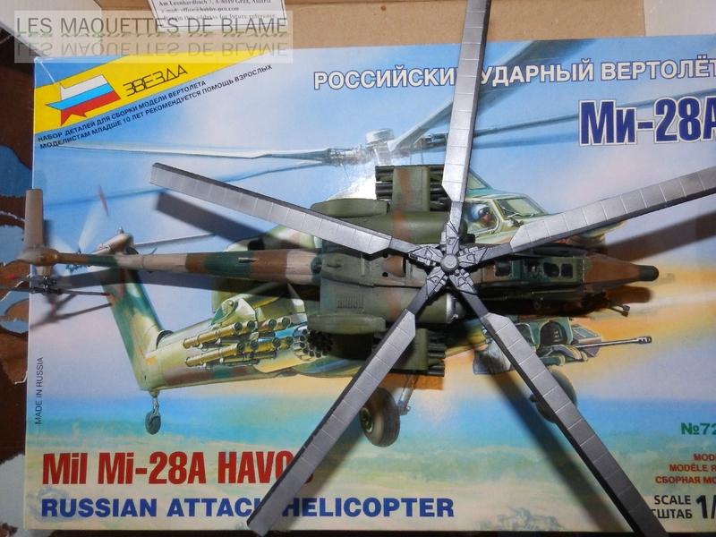 MIL MI-28A HAVOC PROTOTYPE NO32 (ZVEZDA) 1/72 111744133