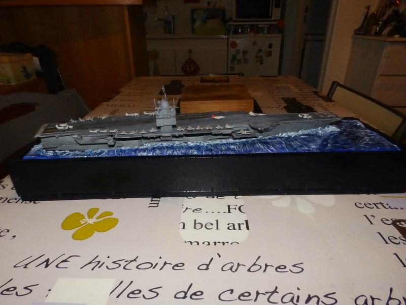 Porte avion USS ENTREPRISE-revell-[Mise en scène marine] 1/720. 105901446