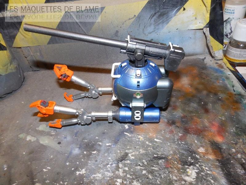 RB-79 MOBILE POD BALL VER.KA (BANDAI) [peinture externe bleu métal] RG 1/100 114045489