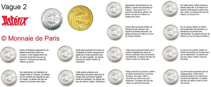 Nouvelle collection de pièce de la Monnaie de Paris - 30 mars 2015 101991277