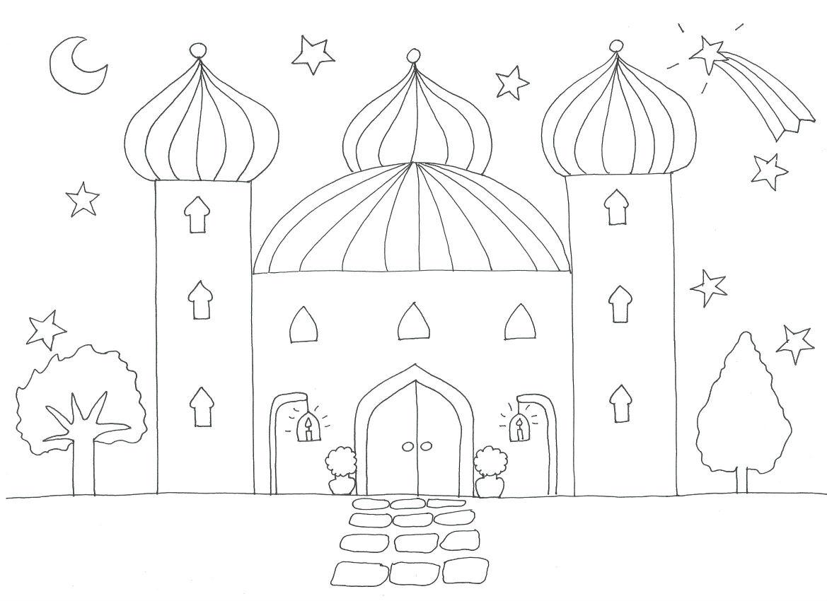 Coloriage sur les mosquées  103832326_o