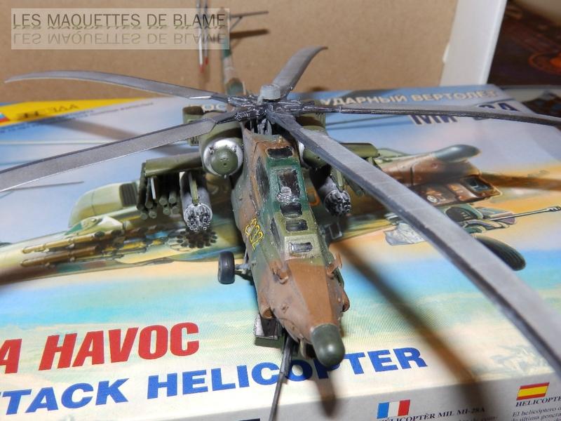 MIL MI-28A HAVOC PROTOTYPE NO32 (ZVEZDA) 1/72 111744114