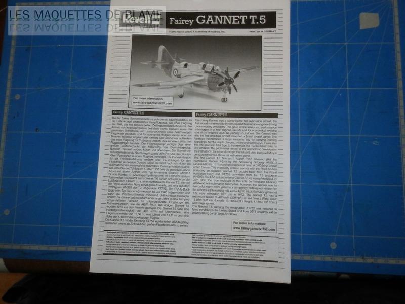 FAIREY GANNET T5 (EN VOL) N°849 UK 1964 Revell 1/72 112607356
