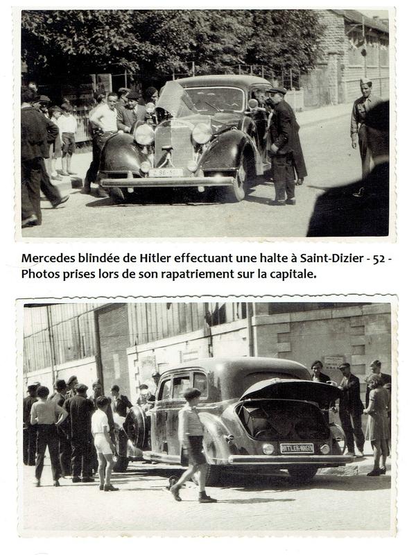 la Mercédès cadeau de Leclerc à de Gaulle 114588438