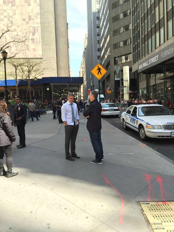 George Clooney on location: Money Monster NYC April 18, 2015 103580033