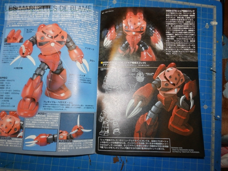 """MSM-07S Z'GOK CAMMANDER TYPE  """"ABANDONED AND RUST CUSTOM"""" - BANDAI - 1/144 - MONTAGE RAPIDE 116943919"""