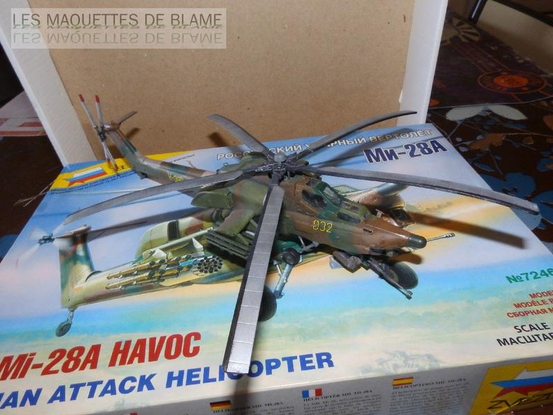 MIL MI-28A HAVOC PROTOTYPE NO32 (ZVEZDA) 1/72 111744078