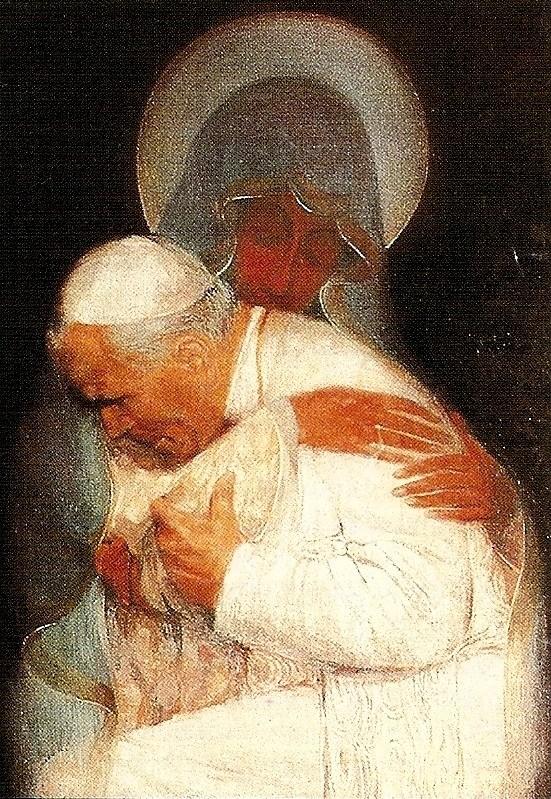 CHEMIN DE CROIX - Retour chemins de Croix/avec Jean-Paul II 15412144