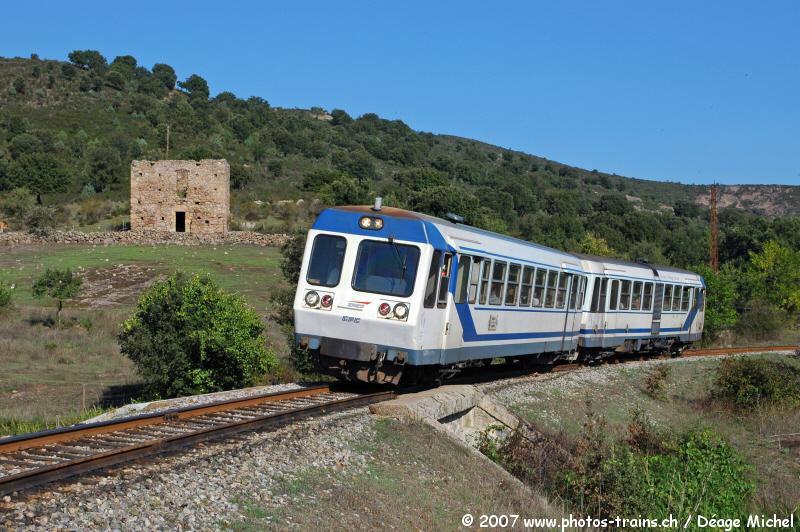 CFC - Chemins de fer de la Corse - de Calvi à l'ile Rousse 99947045