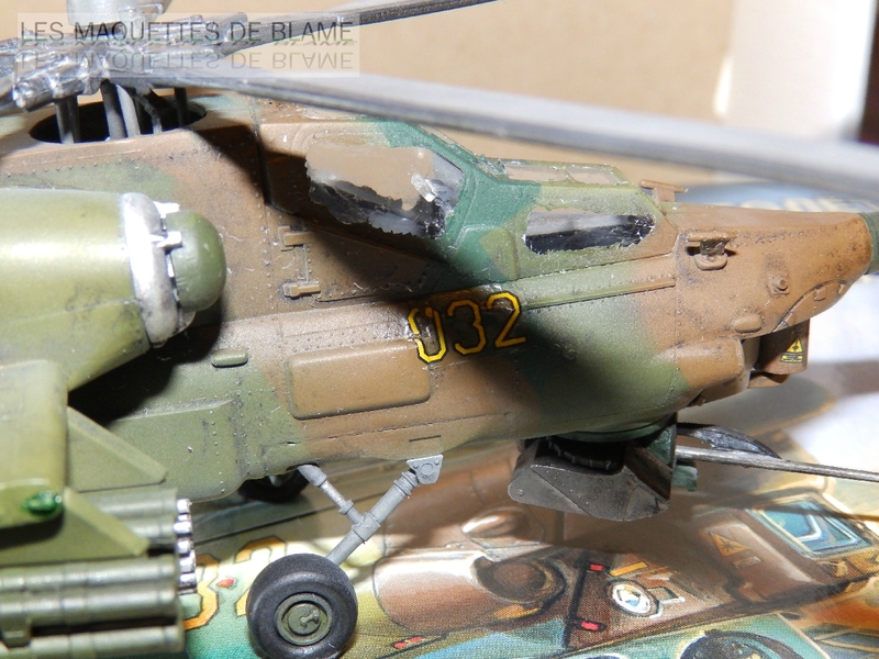 MIL MI-28A HAVOC PROTOTYPE NO32 (ZVEZDA) 1/72 111744115