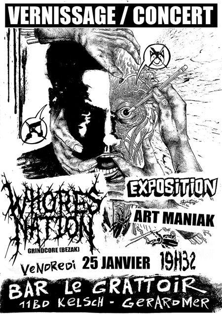 Expo ART MANIAK (dédicace du recueil inside!) 82269453