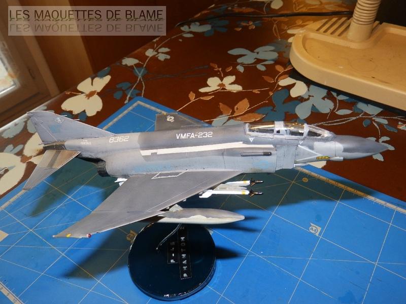 MCDONNELL DOUGLAS F-4S PHANTOM II, WFMA-232 US MARINE CORPS 1987 [italeri 1/72] 110060800