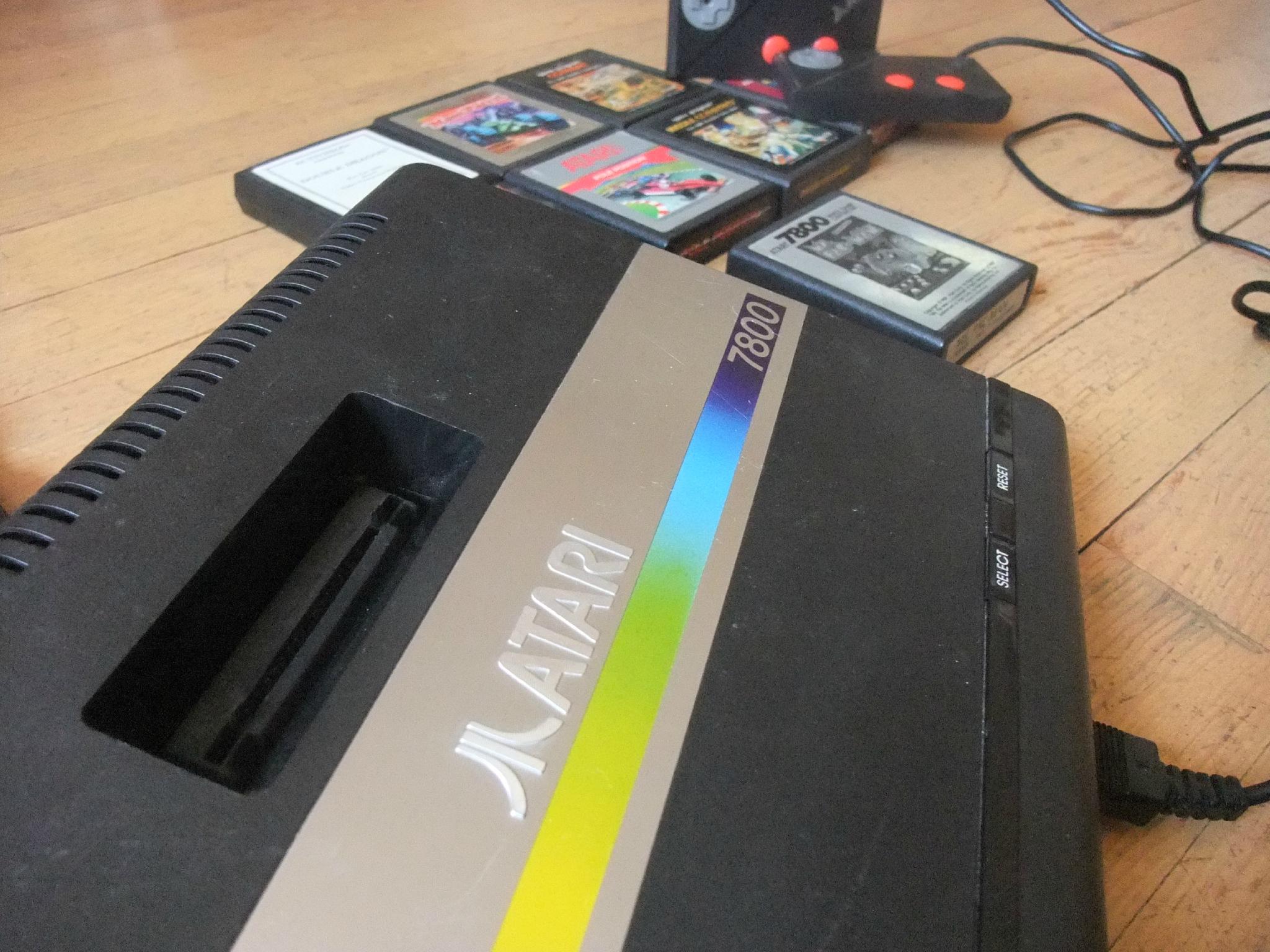 [RESOLU] Atari 7800 qui refuse de s'allumer 97217043_o