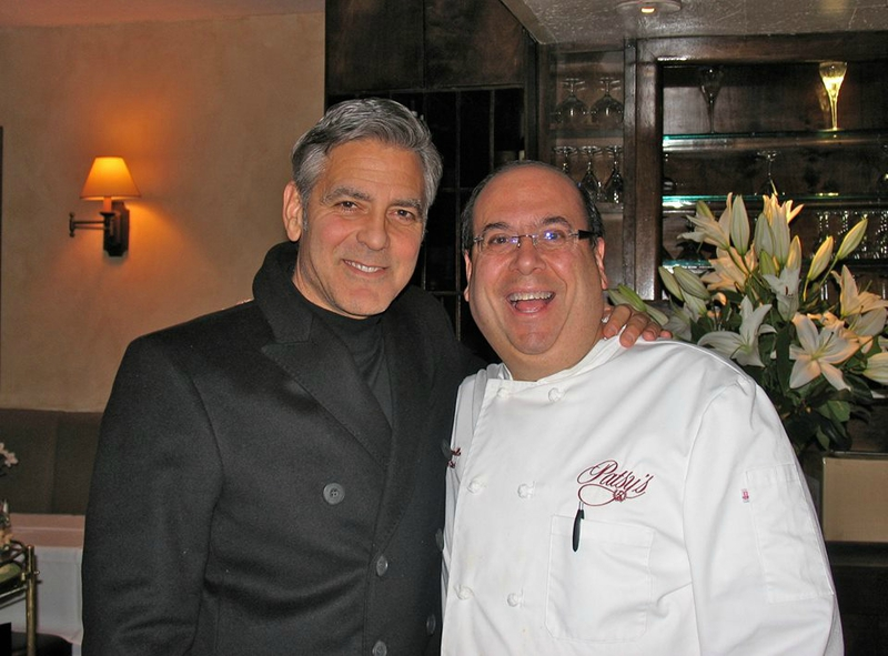 George Clooney, Amal and Nina dine at favourite Patsy's Italian Restaurant in NYC 103040269