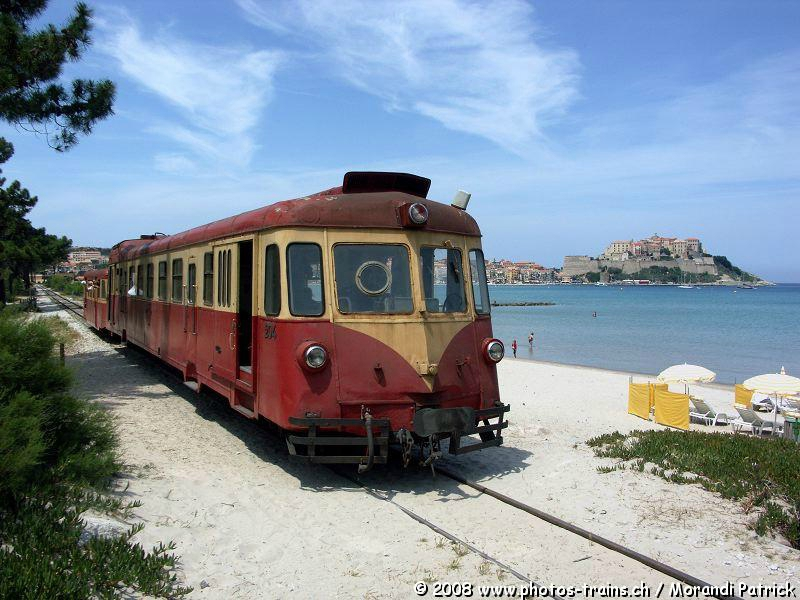 CFC - Chemins de fer de la Corse - de Calvi à l'ile Rousse 99947054