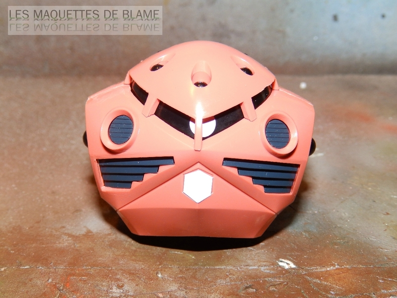 """MSM-07S Z'GOK CAMMANDER TYPE  """"ABANDONED AND RUST CUSTOM"""" - BANDAI - 1/144 - MONTAGE RAPIDE 116943934"""