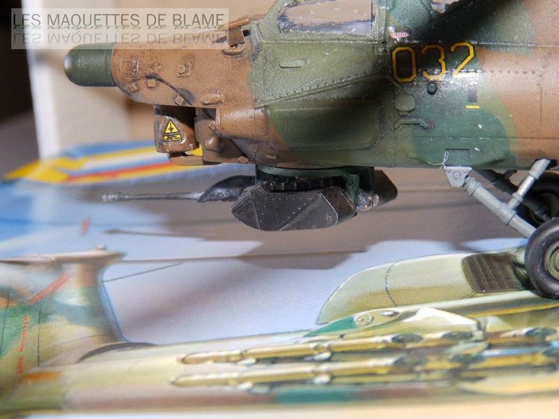 MIL MI-28A HAVOC PROTOTYPE NO32 (ZVEZDA) 1/72 111744110