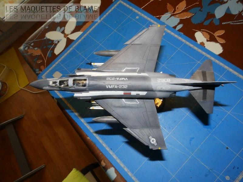 MCDONNELL DOUGLAS F-4S PHANTOM II, WFMA-232 US MARINE CORPS 1987 [italeri 1/72] 110060913
