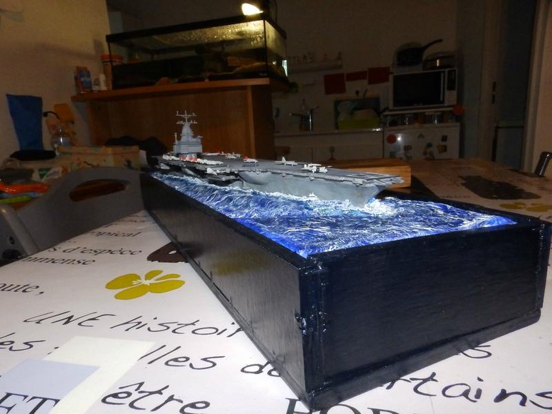 Porte avion USS ENTREPRISE-revell-[Mise en scène marine] 1/720. 105901465
