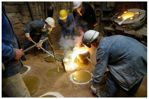 De la Cire Au Bronze - Construction d'un four bon marché 80362897_p
