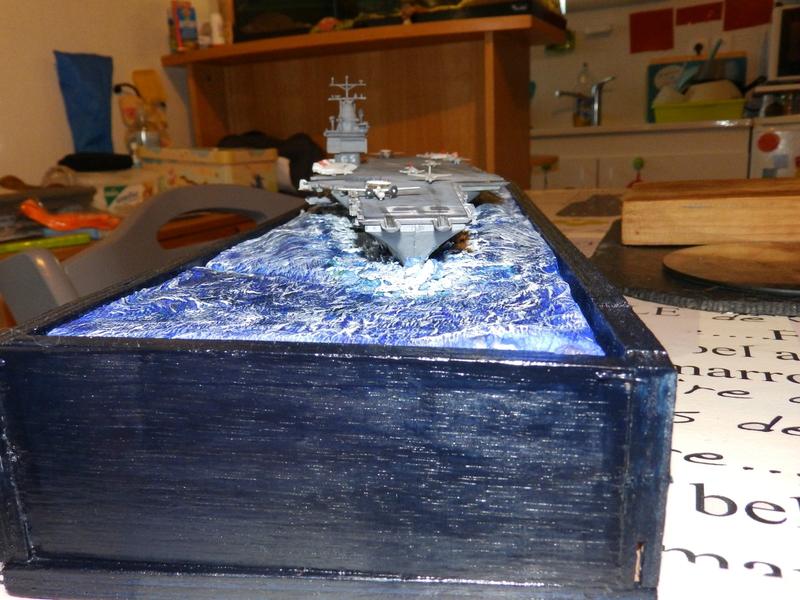 Porte avion USS ENTREPRISE-revell-[Mise en scène marine] 1/720. 105901485