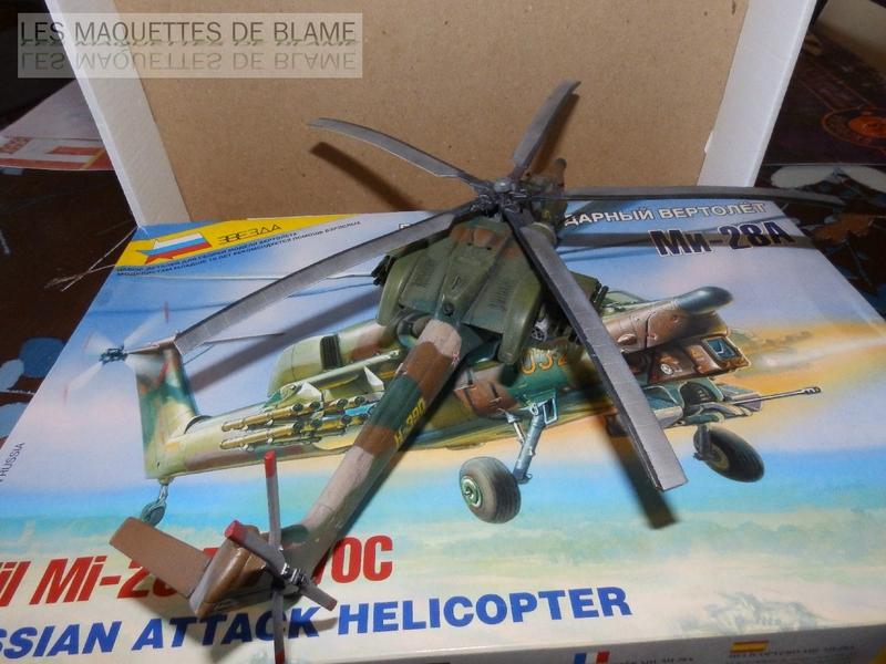 MIL MI-28A HAVOC PROTOTYPE NO32 (ZVEZDA) 1/72 111744082