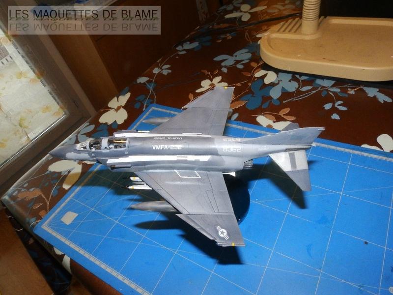MCDONNELL DOUGLAS F-4S PHANTOM II, WFMA-232 US MARINE CORPS 1987 [italeri 1/72] 110060779