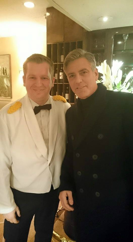 George Clooney, Amal and Nina dine at favourite Patsy's Italian Restaurant in NYC 103040338