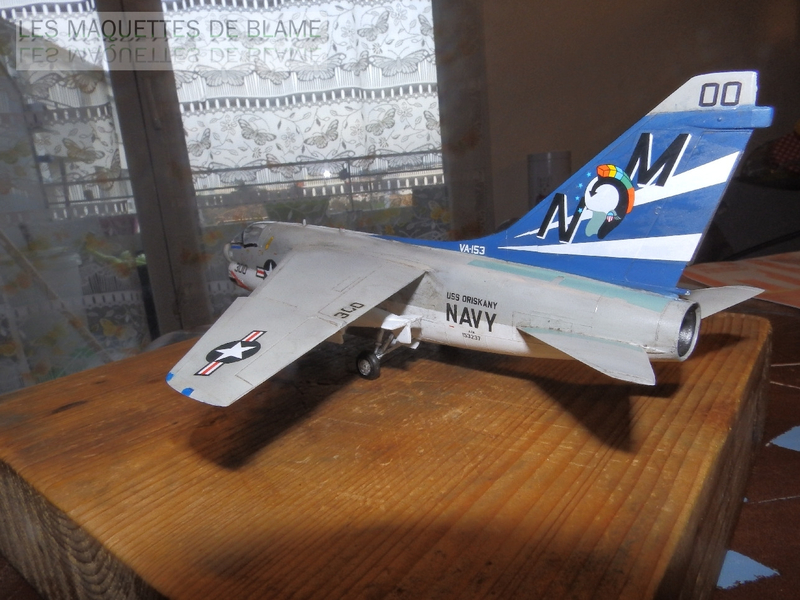 A7-A CORSAIR 2 VA-153 BLUE TAIL FLIES (1/72) HASEGAWA.(intégration à suivre dans un diorama). 114789601