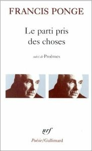 ponge - Francis Ponge [XXe s] 85164884_p