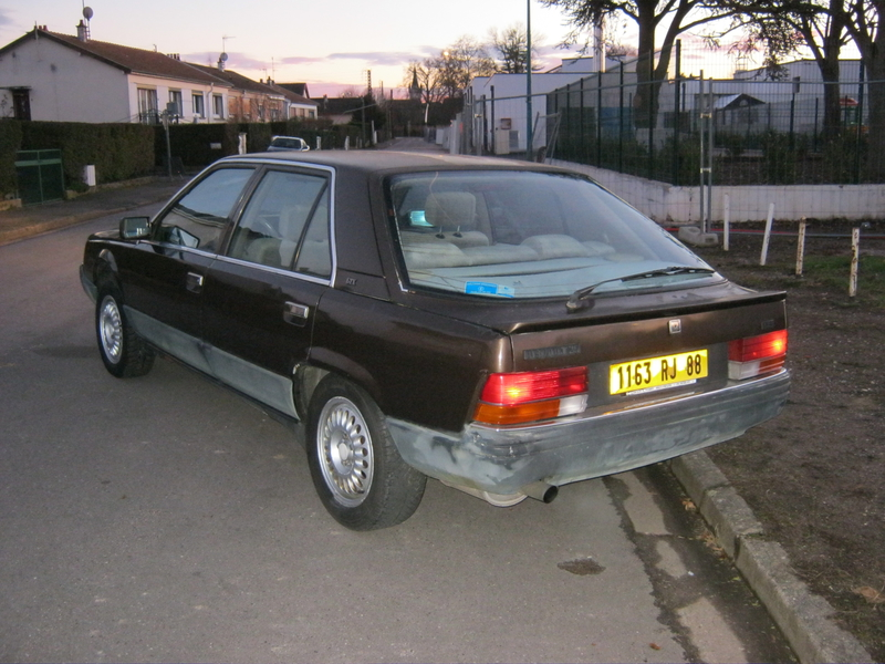 Ma Renault 25 GTX ABS 1986  92344691