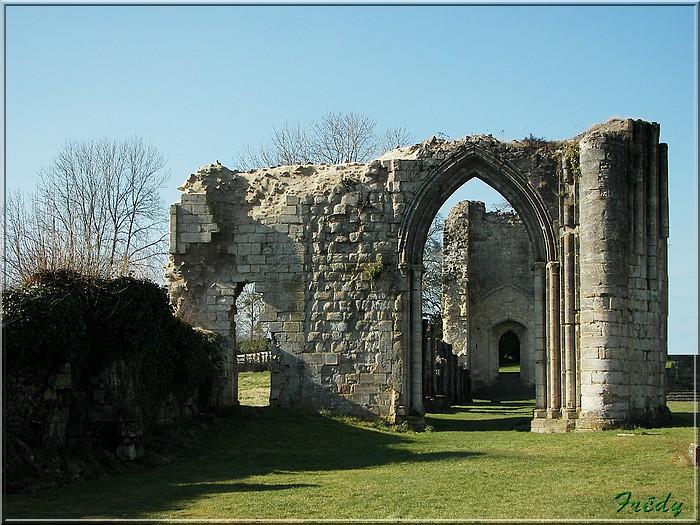 Vestiges d'une abbaye du 11ème siècle 20080213_005b