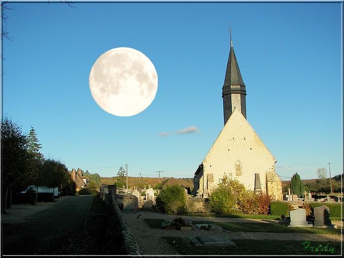 L'église et la lune 20081103_078b
