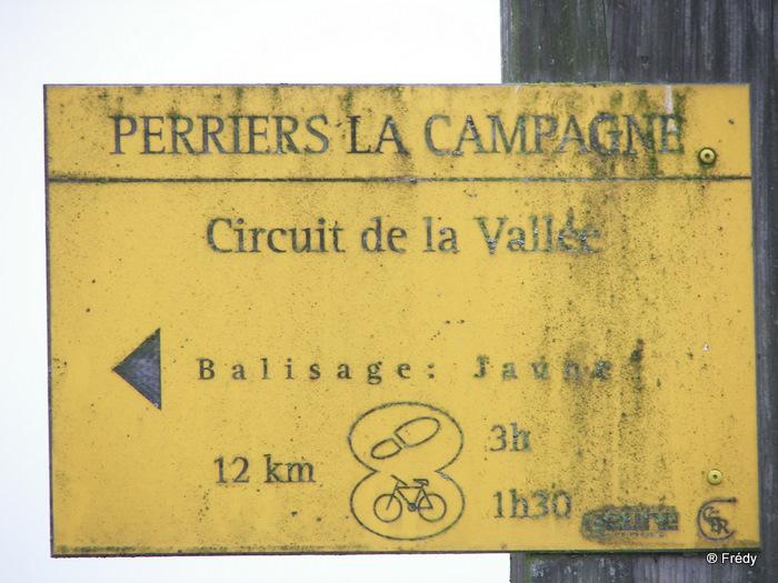 Perriers La Campagne, circuit de la vallée 20091030_002