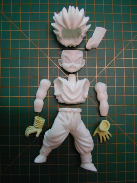 Figurines DBZ (Goku et Vegeta) 3SSCN4101