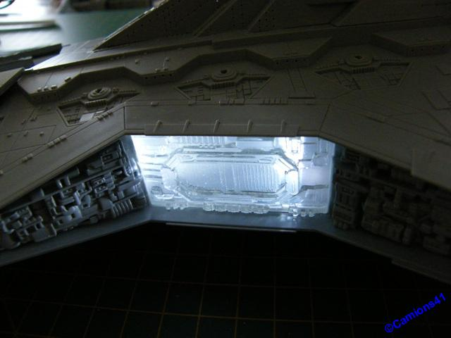 REPUBLIC STARDESTROYER REVELL - MONTAGE & ECLAIRAGE - Page 6 SSCF0870