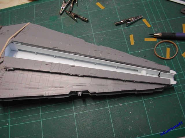 REPUBLIC STARDESTROYER REVELL - MONTAGE & ECLAIRAGE - Page 4 SSCN7286
