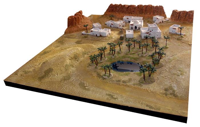 trucs et astuces pour faire une table WWII Afrique du Nord PhaseG1p