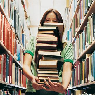 9 tipos de lector Girl_books