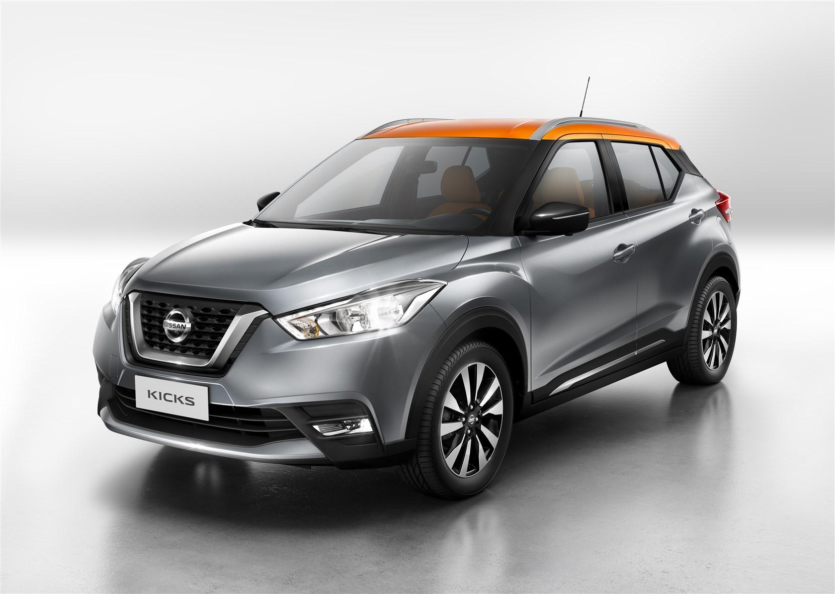 AR Motors Nissan apresenta crossover global Nissan Kicks e recebe Tocha Olímpica nessa semana Nissan-kicks