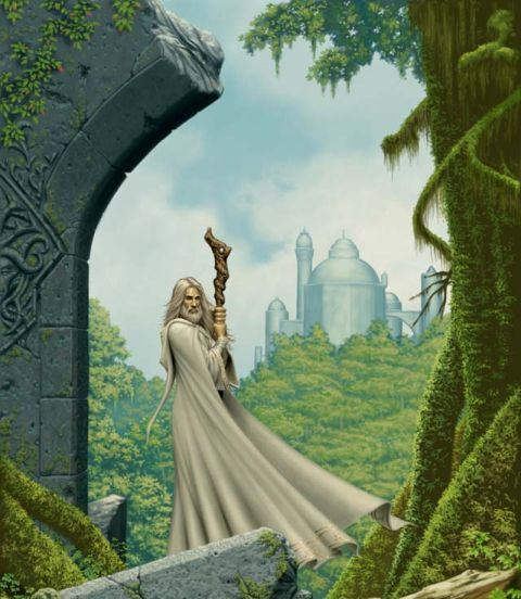 Лесные мудрецы древности -друиды   86426550