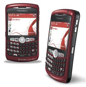 ارسل اهم الرسائل مع بلاك بيرى Rogers-blackberry-curve-8310-red1
