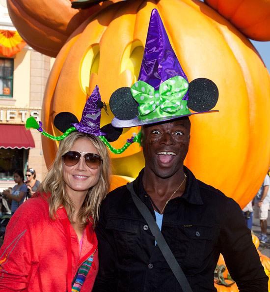 Les peoples, stars, célébrités en visite à Walt Disney World et Disneyland. Hie696532SMALL