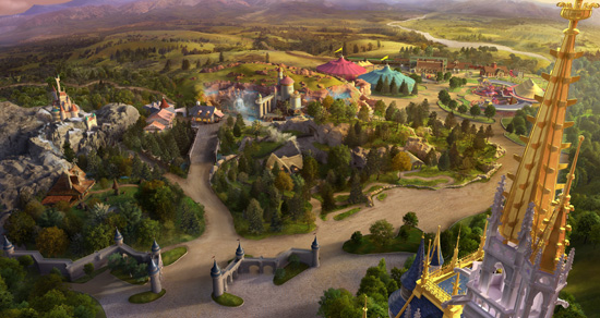 [Magic Kingdom] New Fantasyland - The Forest: Beauty and the Beast, The Little Mermaid (06 décembre 2012), 7 Dwarfs Mine Train (28 mai 2014) - Page 5 Nfp993999SMALL
