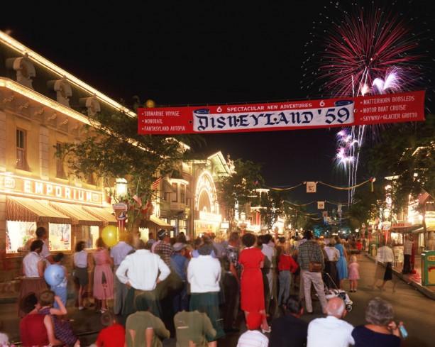 Disneyland: archives des années 50 2-DL59-613x489
