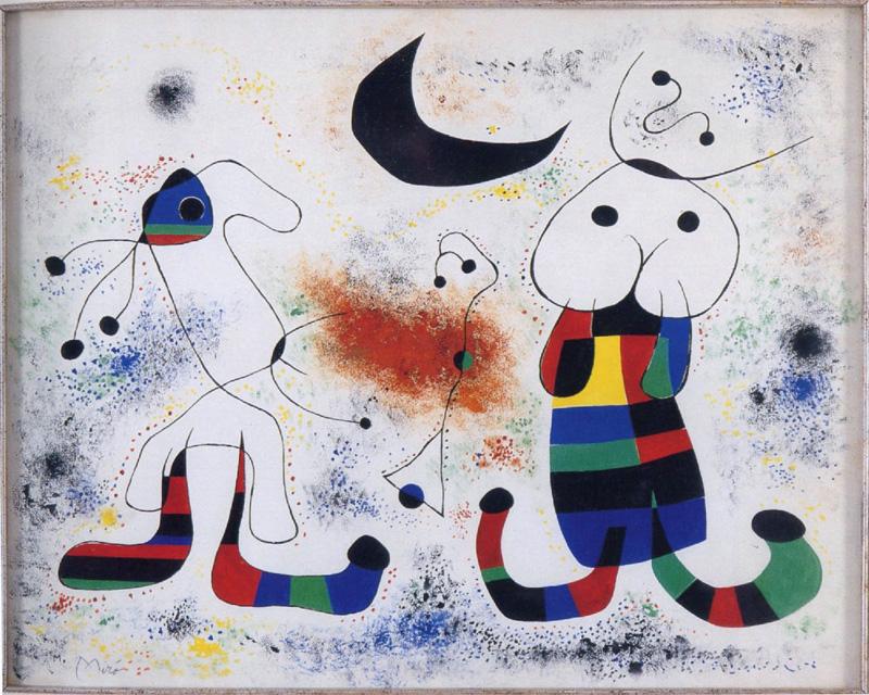 L'espressione artistica Miro-senza-titolo